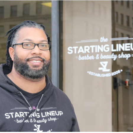 starting line up, black owned business expanding in downtown Youngstown Ohio